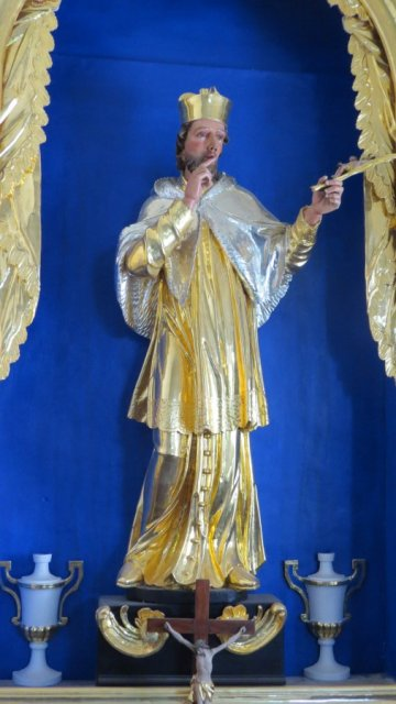 Farna cerkev Podbrezje-sv. Janez Nepomuk