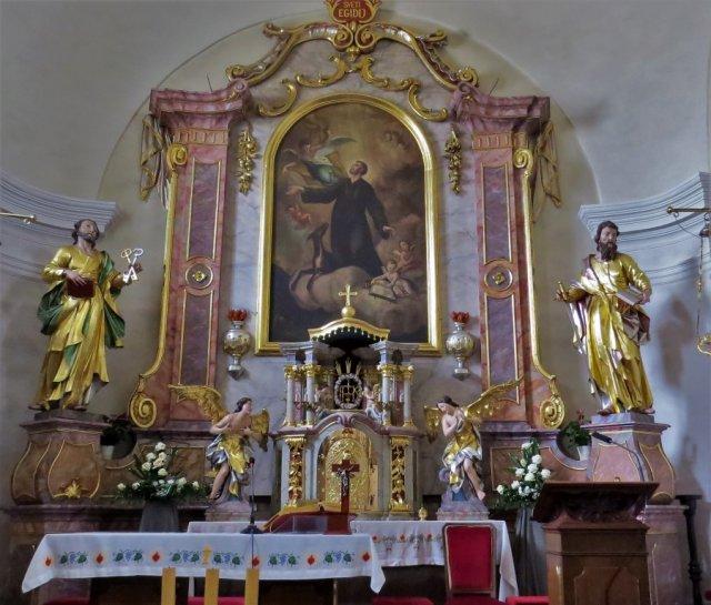 farna cerkev Besnica