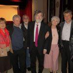 še fotografija za slovo z dr. Milčkom Komeljem in Nikom Grafenauerjem
