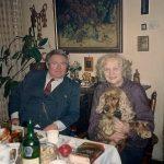 MM s sinom Mišom in kužkom Tobijem