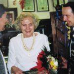 MM z vnukoma ob svoji 80 letnici leta 1999
