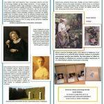 dogodkovni list in predstavitev miniaturk iz del slikarke Ivane Kobilca