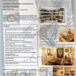 dogodkovni list prireditve ob otvoritvi spominske sobe