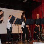 kvartet flavtistk in skladba Branle de la Torche