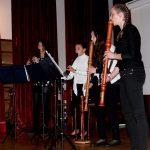 kvartet flavtistk in skladba Pink panter