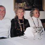 s hčerko Mili in zetom Jožetom Šlibarjem