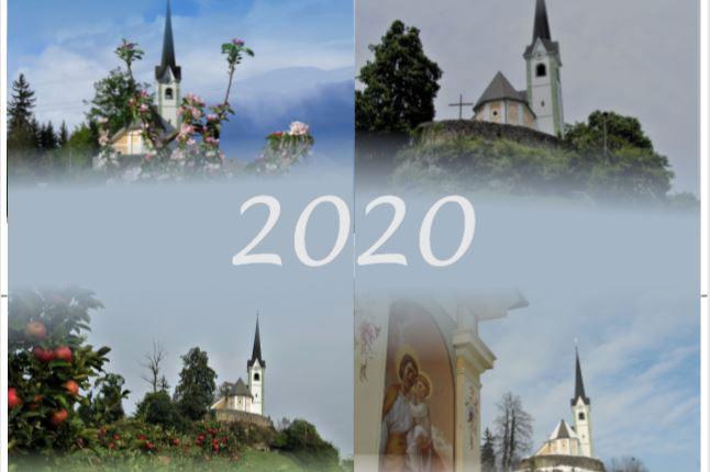 Koledar 2020 s fotografijami Tabora